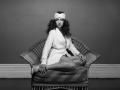 Chelsea Wilson - channeling Bianca Jagger. Album cover shot!